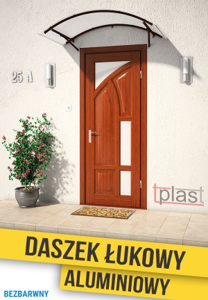 Daszek nad drzwi łukowy 140x90cm DLA140X90KB