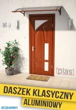 daszek nad drzwi klasyczny 100x80cm DKA100X80KB