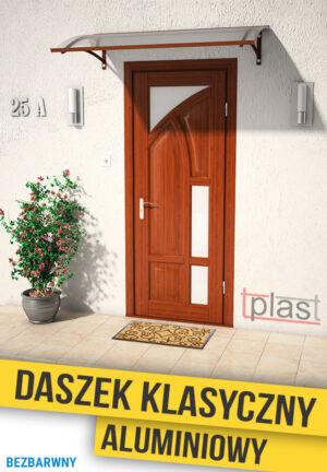 daszek nad drzwi klasyczny 120x100cm DKA120X100KB