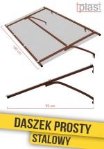 daszek-nad-drzwi-prosty-stalowy-160x90cm-DPS160X90K-TECH