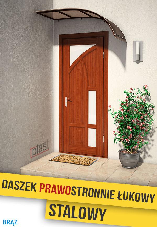 daszek-prawostronnie-łukowy-stalowy-150x90cm-DPLS150X90KBR