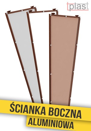 Ścianka boczna do daszka 180x53x30cm SBA180X53X30K