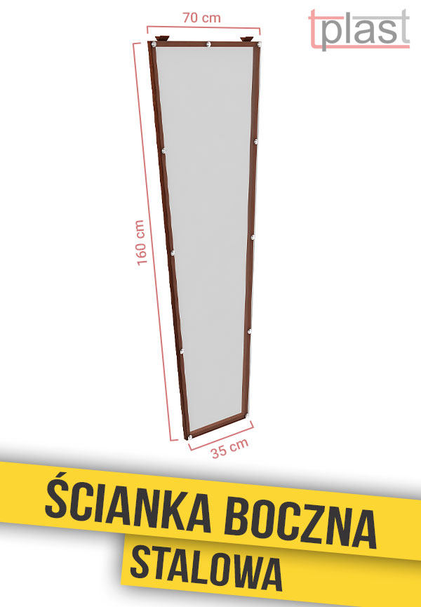 scianka-boczna-stalowa-do-daszka-160x70x35cm-SBS160X70X35K-TECH